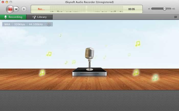 MP3-рекордер для Mac-iSkysoft