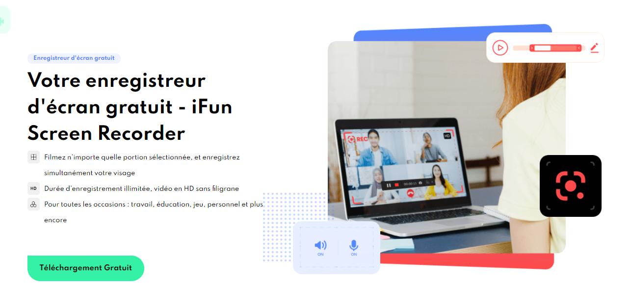 Téléchargez iFun Screen Recorder
