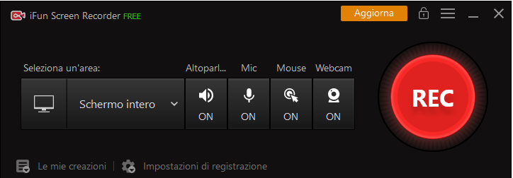 Registrare con iFun Screen Recorder