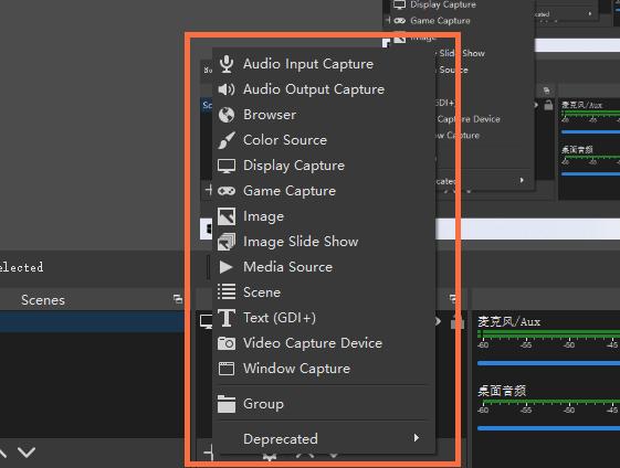 Registra gameplay VR: aggiungi le sorgenti in OBS
