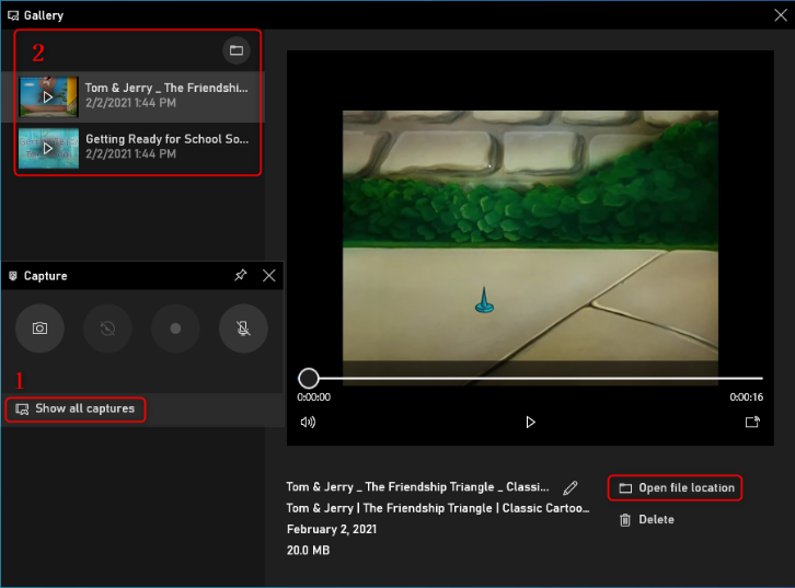 Как записать видео с экрана компьютера Windows 10 - Сохранять записанное видео с компьютера