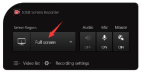 Как записать видео с экрана компьютера - шаг 1