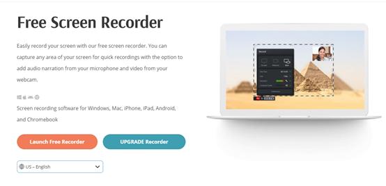 LaunchFreeRecorderでパソコン画面をキャプチャ
