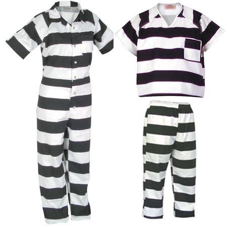 Shop Black And White Striped Prison Shirt 57 Off