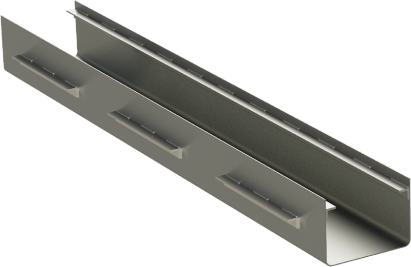Channel Frame for Trench Grates