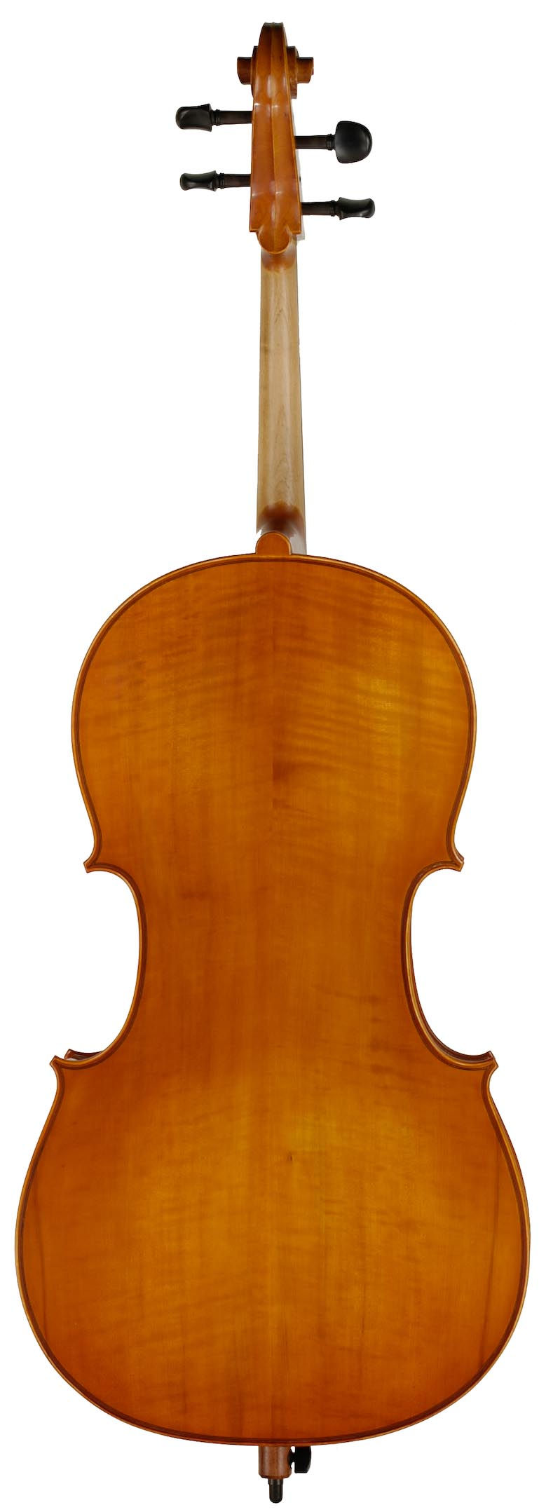 Fully Carved Cello Rental Back