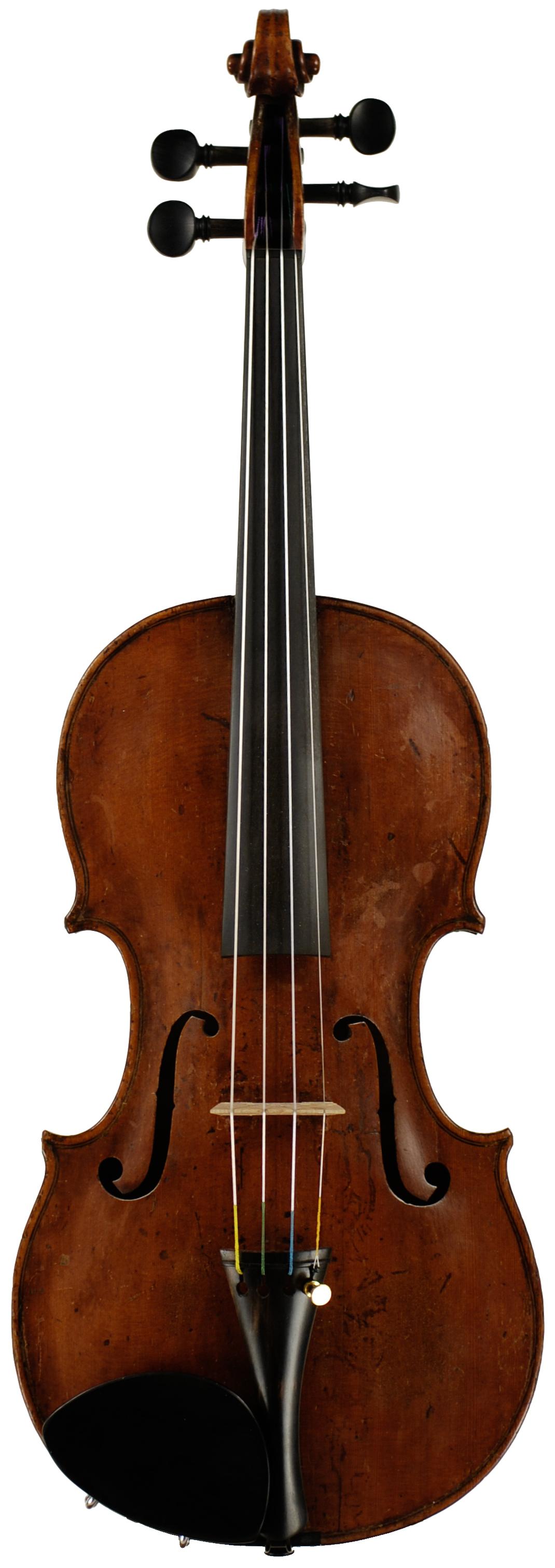 Johann Christian Schlosser Violin Top