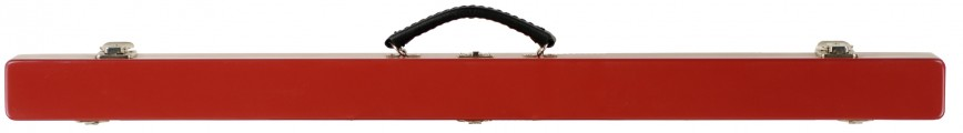 Double Bow Case Red Closed