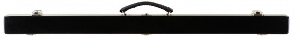 double Bow Case Black Closed