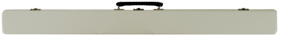 Single French Bow Case White Closed