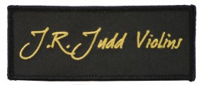 J.R. Judd Cello Case Patch