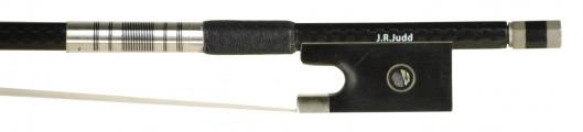 JR Judd Carbon Fiber Grey/Black Weave VN Bow Frog