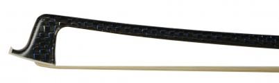 JR Judd Carbon Fiber Blue/Black Weave VN Bow Tip