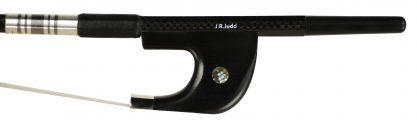 JR Judd Braided Carbon Fiber German Style Bass Bow Frog
