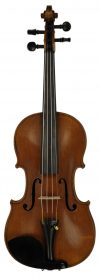 Late 1800's Mirecourt Violin, Old French One-piece c 1870's SKU