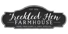 Freckled Hen Farmhouse Logo
