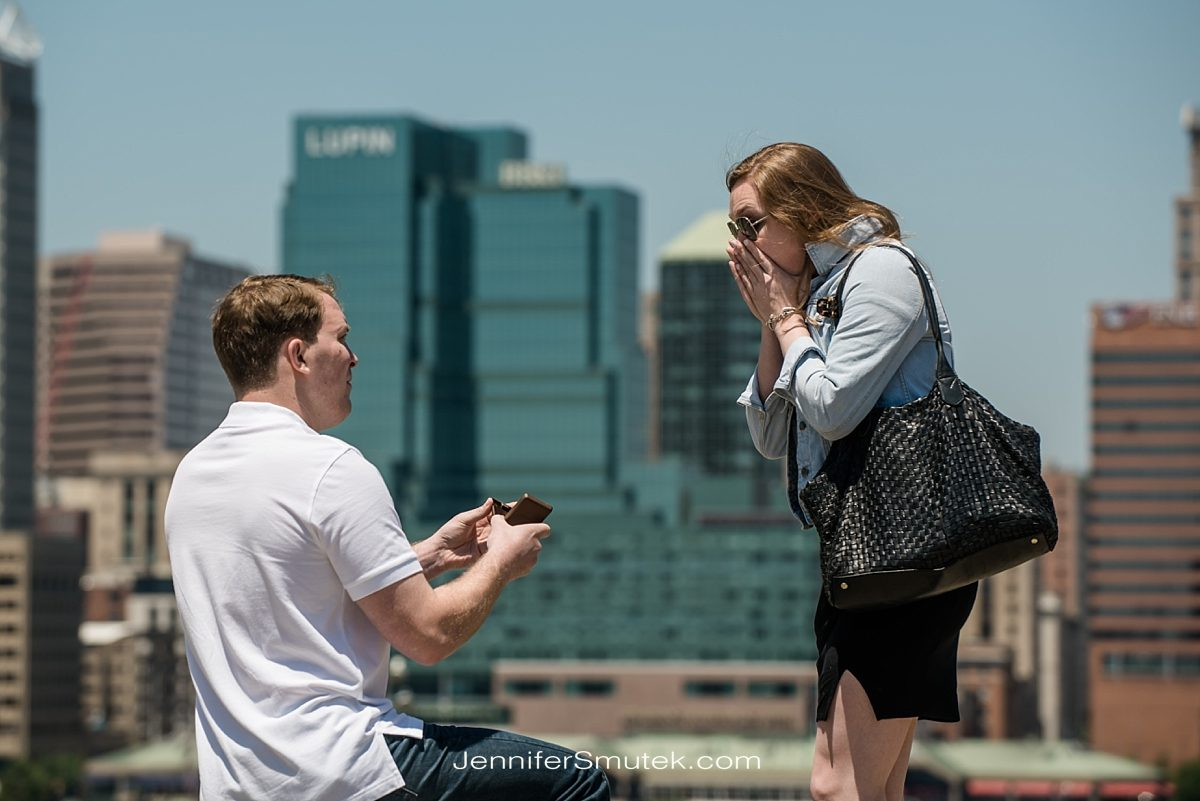 Federal Hill Proposal Photography