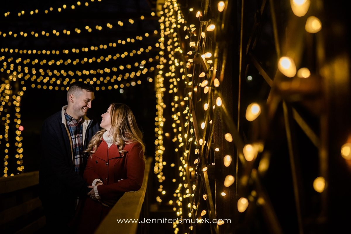 winter Savage Mill Engagement Session