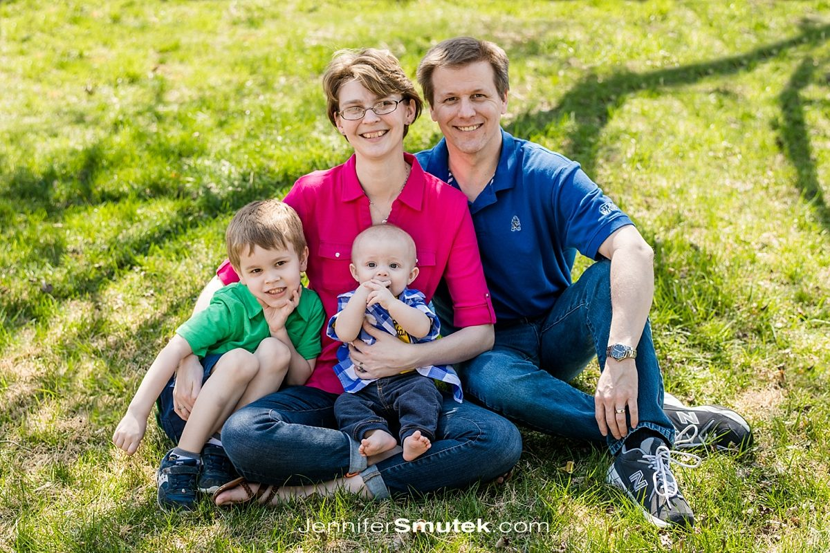 Spring Maryland Family Session