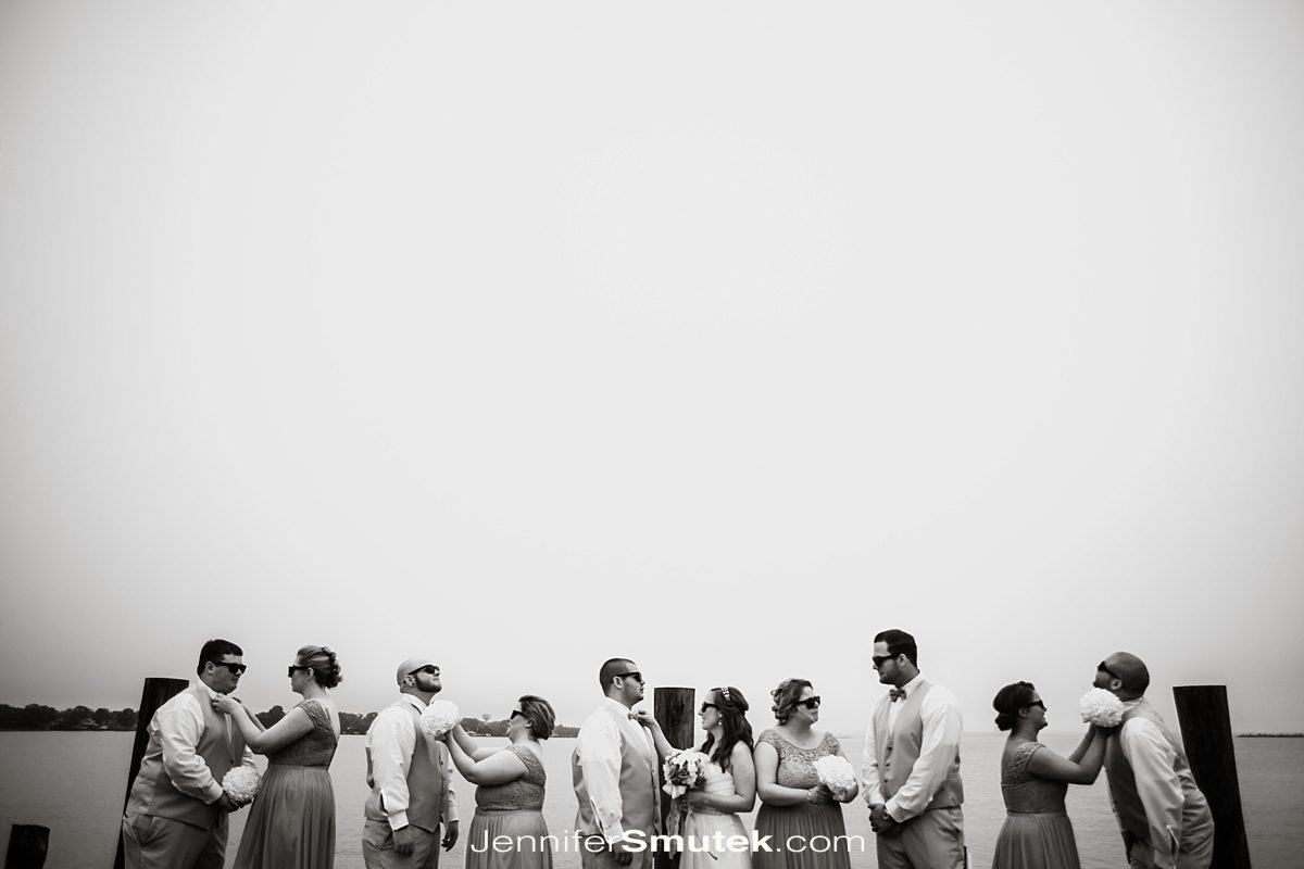 bridal party photos photos at the bayfront club in edgemere