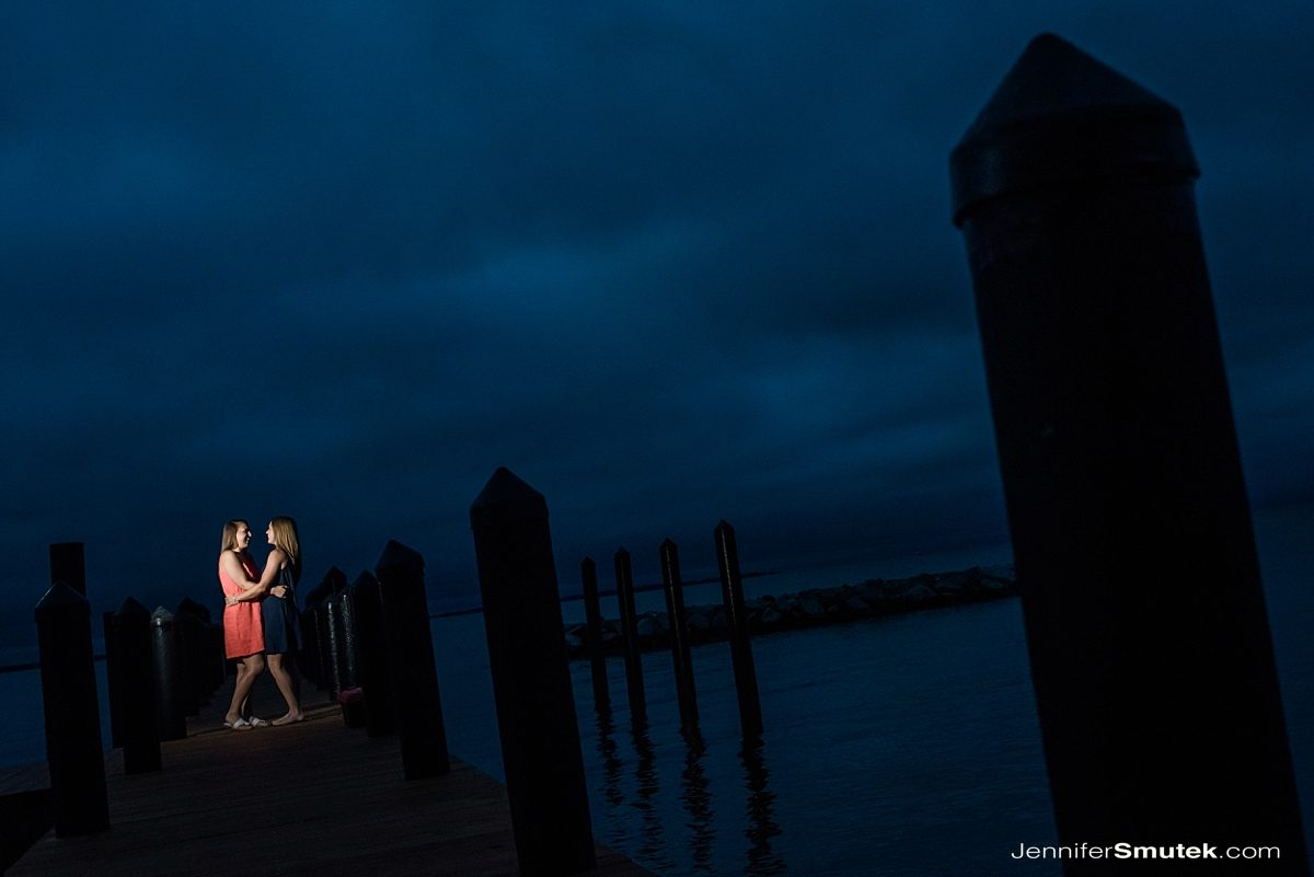 sunrise Philip Merrill Enviornmental Center Engagement Session