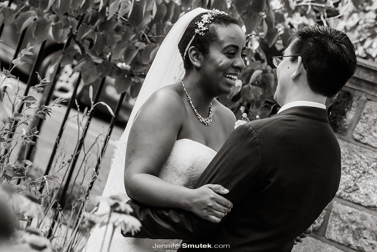DC wedding photographer couple laughing