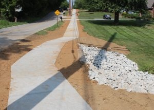 New Chapel Sidewalk