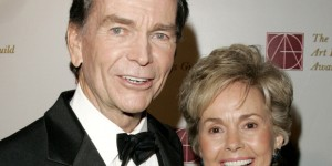 Dean Jones with his wife Lory in 2006. (Photo credit: wreg.com)