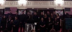 Choir of St. Thomas Chaldean Catholic Church in Detroit (Photo Credit: Jeff Walton)