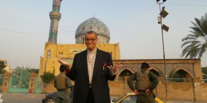 Canon Andrew White in Baghdad