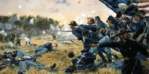 Civil War Painting