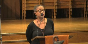 Bishop Yvette Flunder discusses religious absolutism and other topics at Union Theological Seminary