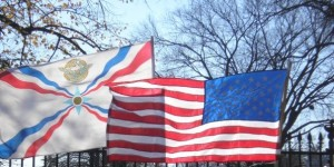 Assyrian and American flags (Photo credit: Faith J. H. McDonnell)