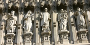 Westminster Abbey Martyrs, including Archbishop Janani Luwum.