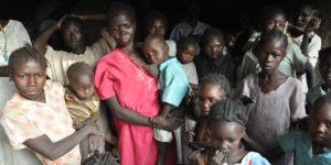 Nuba hide in the mountain caves to escape Sudan's bombing raids.
