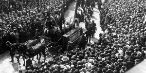 Funeral Procession of General William Booth, London. (Photo credit: The Salvation Army)