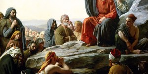 The Sermon on the Mount by Carl Heinrich Bloch