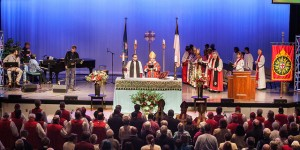The Anglican Church in North America gathers for its 2012 Provincial Assembly in Ridgecrest, NC. The denomination has reported significant growth since it's 2009 launch (photo: ACNA)