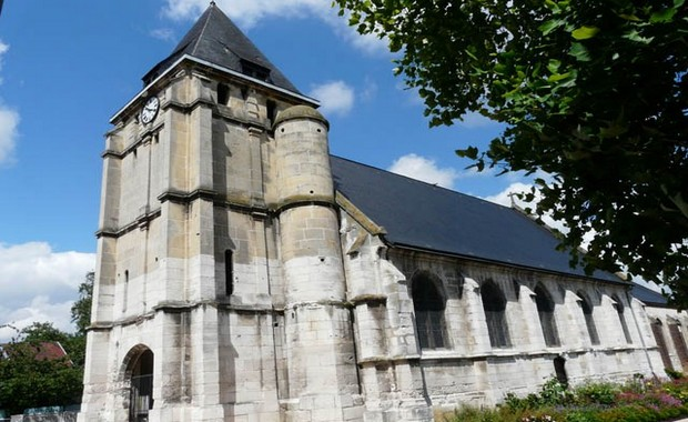 Ird normandy church terror attack is declaration of jihad for Frazzi saint etienne du rouvray