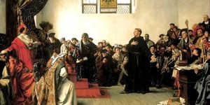 Luther before the Diet of Worms