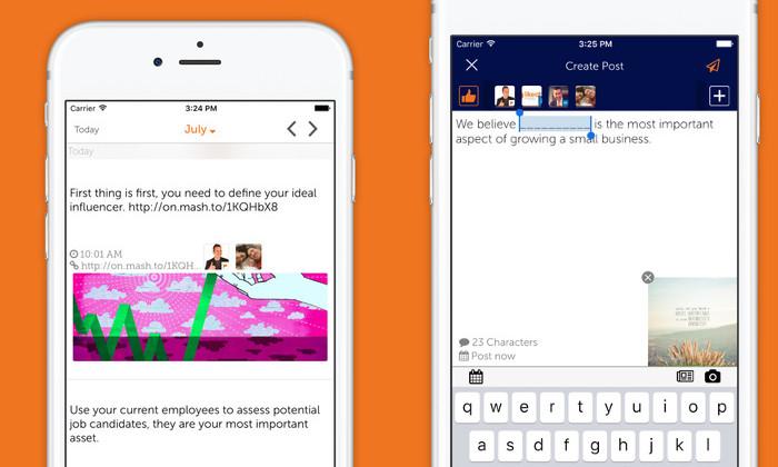 Likeable Hub Mobile App