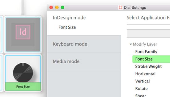 Palette for InDesign CC
