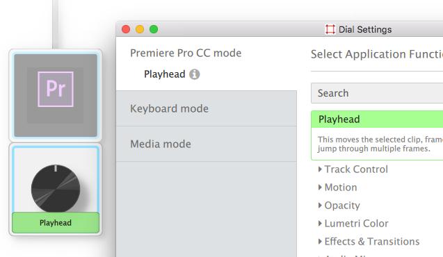 Palette for Premiere Pro CC