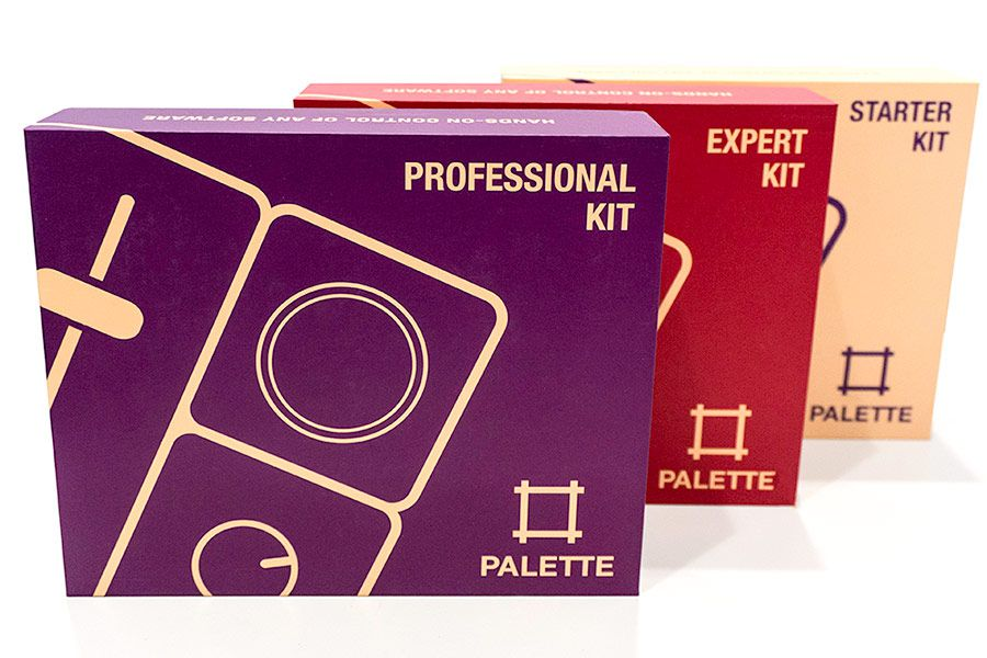 Palette kit packaging