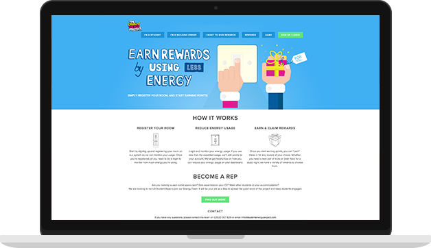 Student Energy Project Website