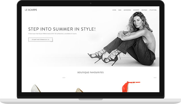 LeScarpe Website