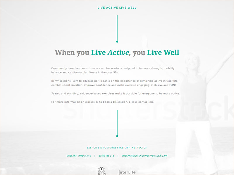Live Active & Live Well