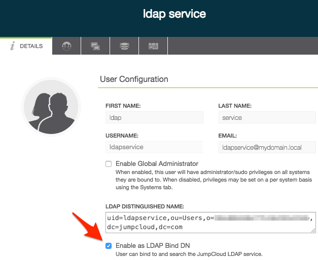 JumpCloud | Using JumpCloud's LDAP-as-a-Service