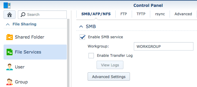 JumpCloud | Configuring Synology for SMB service