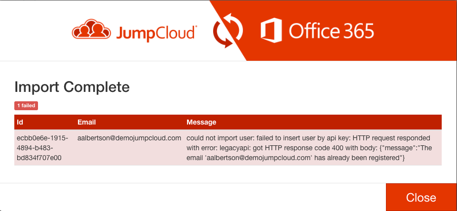 JumpCloud | Office 365 User Import, Provisioning, an